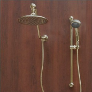 atlantis 7 gold rain shower head combination b001p4a988