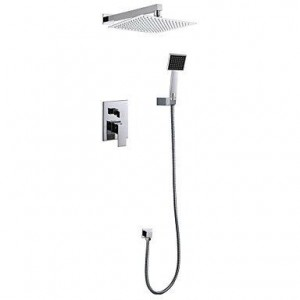 baqi home 12 inch concealed wall mounted showerhead b0162d3kr8