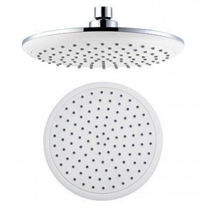 baqi home contemporary 8 inch a grade abs showerhead b0162czh16