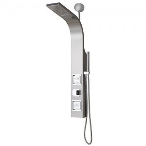decor star connect stainless waterfall handshower 006 ss