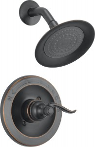 delta faucet windemere monitor rubbed shower bt14296 ob