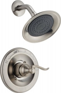delta faucet windemere monitor stainless shower bt14296 ss
