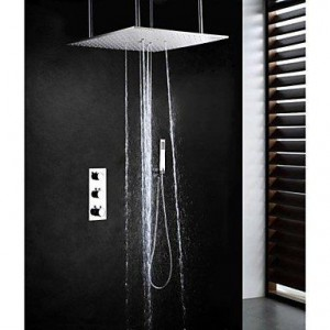 nd faucet 20 inch brushed thermostatic shower b016nml2zu