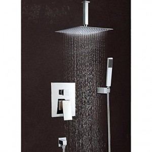nd faucet 8 inch wall mount hand sprayer rain shower b016nmk83w