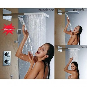 nd faucet thermostatic stainless wall mounted shower b016nmkdqe
