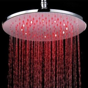 qw 10 inch led color changing brass showerhead b016bcejes