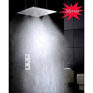 qw atomizing and rainfall 20 inch brass showerhead b016bc45ro