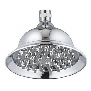 qw contemporary 6 inch brass rainfall showerhead b016bcakpk