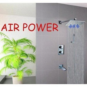 qw wall mounted 10 inch thermostatic water saving showerhead b016bcd85o