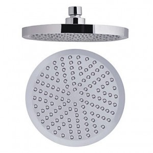 ybed 8 inch abs circle rainfall shower head b016lrie44