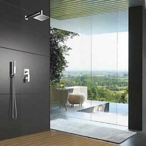 ymd brass chrome in wall mounted shower b016nopmd6