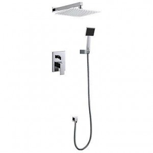 zzq cc 12 inch concealed wall mounted rain shower b0169z09qo