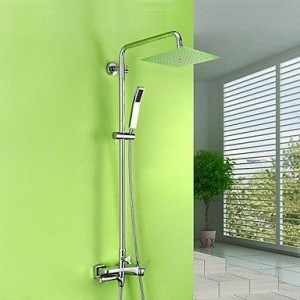 zzq cc 60 inch contemporary chrome brass shower b0169yws7s