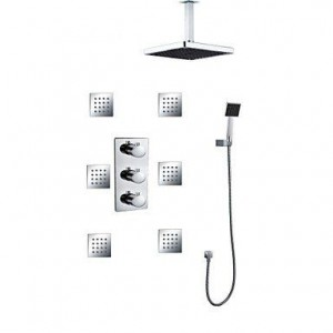 zzq cc 8 inch thermostatic rainfall handshower b0169yvj32