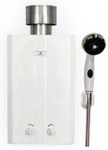 eccotemp portable outdoor tankless water heater shower l10