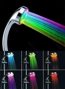 fixed showerheads led colors changing showerhead ak 8489