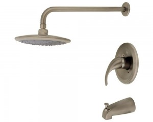 mr direct brushed nickel rainhead shower 750 bn