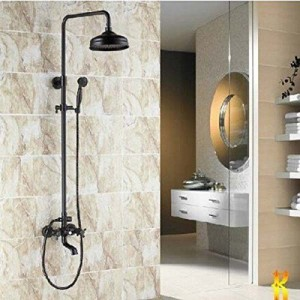 senlesen 8 inch rubbed bronze hand spray shower b014igevb0