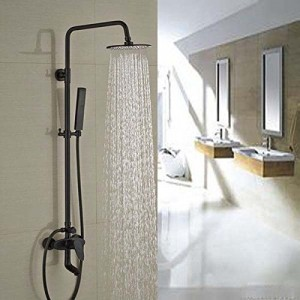 senlesen 8 inch wall mounted rubbed tub handshower b015e09wk4