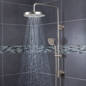 Superbe Speakman Brushed Nickel Handheld Rain Showerhead SWS 1003 BN