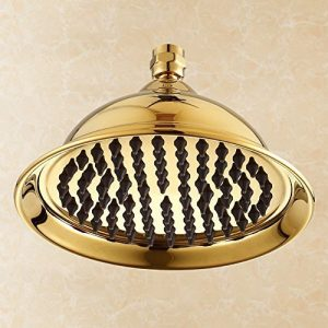 yakult wall mounted brass rain showerhead