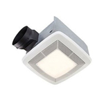 broan model 110 cfm fluorescent light ultra silent bath fan light 8