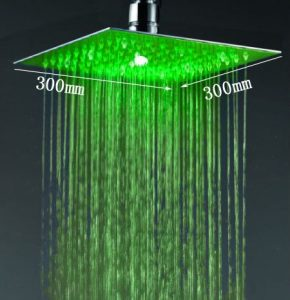 """Fontana HDD907CA Luxury 12"""" Water Power LED Shower"""