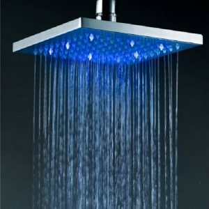Jiayoujia 8 Inch LED Wall Mount Rain Handshower 20252