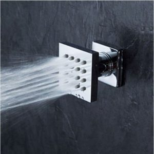 Rozinsanitary 8 Inch LED Thermostatic Mixer Rain Handshower