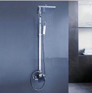 "Detroit Bathware SH-747 Wall Mounted 8"" Rainfall Shower"