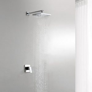 Lightinthebox 8 Inch Single Handle Wall Mount Chrome Brass Shower #1603726