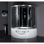 ariel bath platinum steam shower with whirlpool bathtub