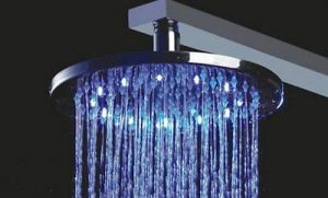 "Detroit Bathware Ys-1697 8"" LED Rainfall Showerhead"