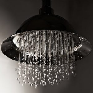 "Hudson Reed 8"" Rose Style Fixed Showerhead UFG-K200"