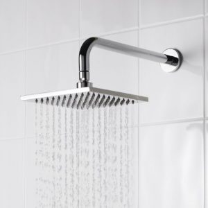 "Hudson Reed Modern 8"" Rainfall Fixed Showerhead UFG-AD9402-ARM01"