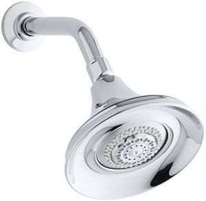 Kohler Polished Chrome Multifunction Wall-Mount Showerhead