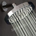 Luxury Spa 6 Inch High Pressure Rainfall Showerhead