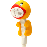 amico yellow duck shower head pal 2