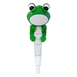 conservco handheld shower head for kids frog 4