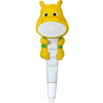 conservco handheld shower head for kids hippo 3