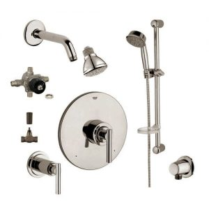 Grohe 2WVC-ATBN Custom Shower 2-Wall Volume Control System