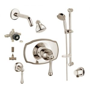 Grohe 2WVC-BRBN Custom Shower 2-Wall Volume Control System