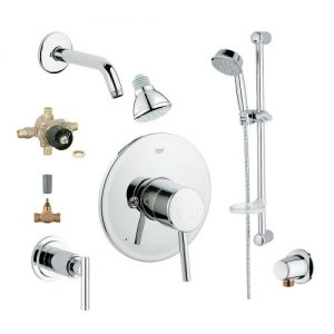 Grohe 2WVC-COPC Custom Shower 2-Wall Volume Control System