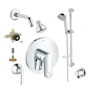 Grohe 2WVC-EPPC Custom Shower 2-Wall Volume Control System