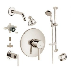 Grohe 2WVC-ESBN Custom Shower 2-Wall Volume Control System