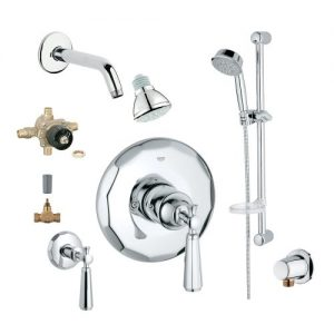 Grohe 2WVC-KEPC Custom Shower 2-Wall Volume Control System