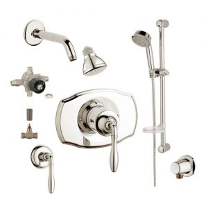 Grohe 2WVC-SEBN Custom Shower 2-Wall Volume Control System