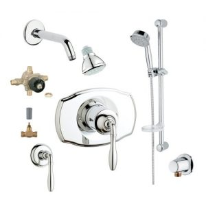 Grohe 2WVC-SEPC Custom Shower 2-Wall Volume Control System