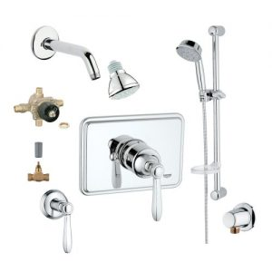 Grohe 2WVC-SOPC Custom Shower 2-Wall Volume Control System