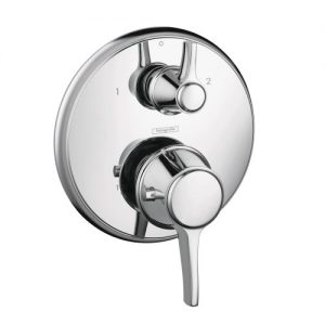 Hansgrohe 15752001 Metris C Thermostatic Trim with Volume Control